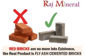 fly ash bricks vs red bricks